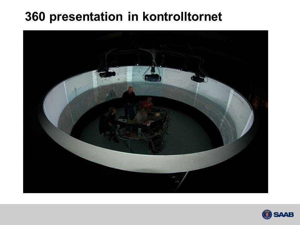 360 presentation in kontrolltornet