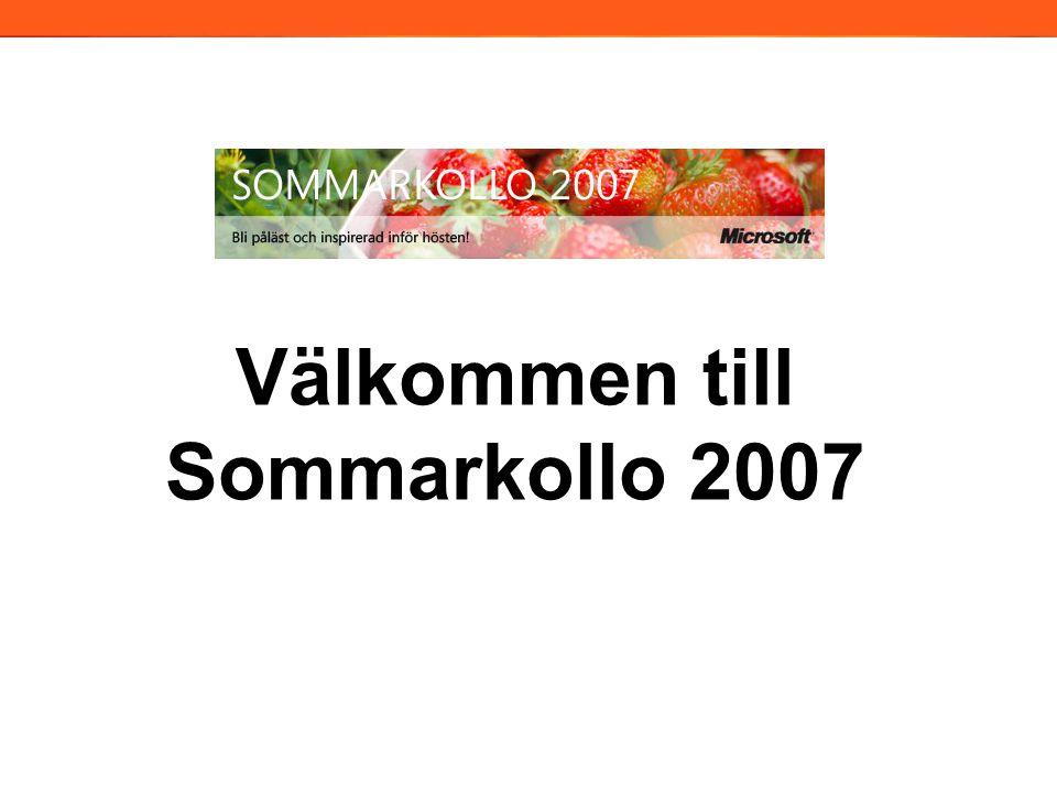 Exchange Server 2007 Martin Lidholm MCT/MCSE:Messaging martin@lidholm-co.se