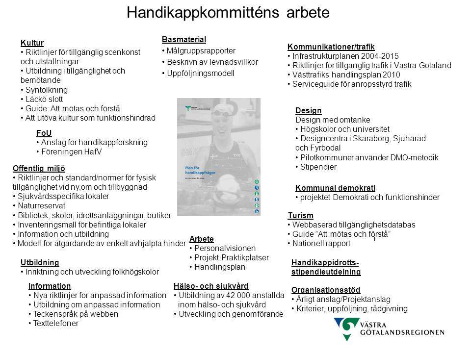 Kultur Riktlinjer för tillgänglig scenkonst och utställningar Utbildning i tillgänglighet och bemötande Syntolkning Läckö slott Guide: Att mötas och f