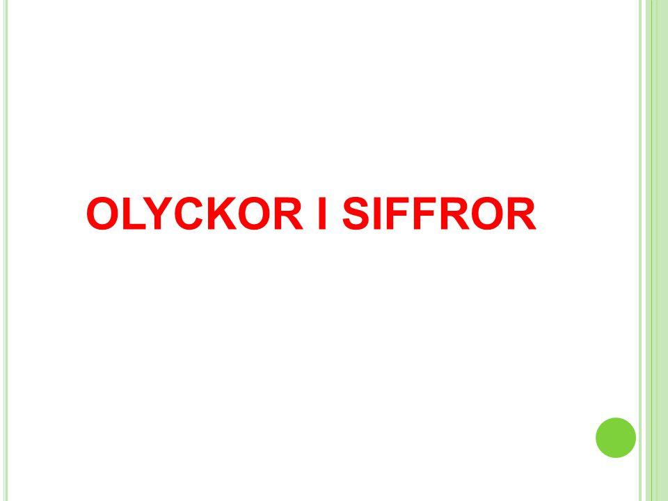 OLYCKOR I SIFFROR