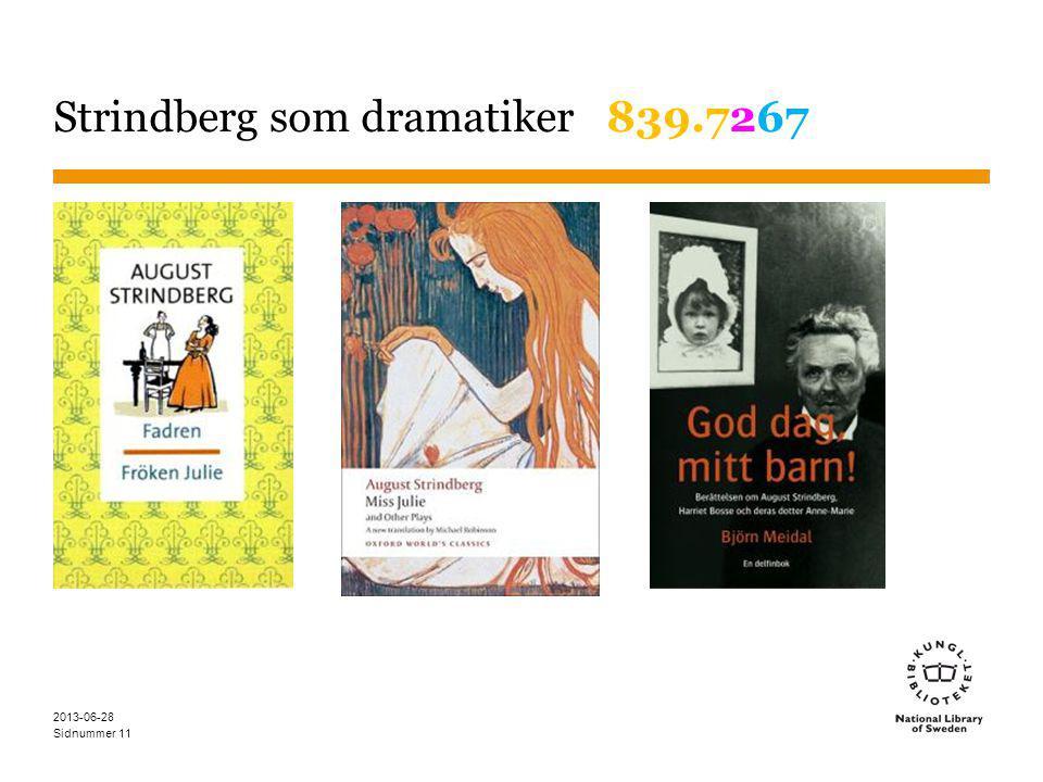 Sidnummer 2013-06-28 11 Strindberg som dramatiker 839.7267