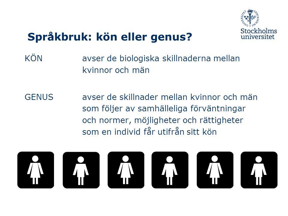 Genusskillnader i utbildning för befolkningen 25-64 år ur SCBs Lathund om jämställdhet 2008 Högst förgymnasial GymnasialEfter- gymnasial KvM M M 25-44 år6945544938 45-60 år172448463530