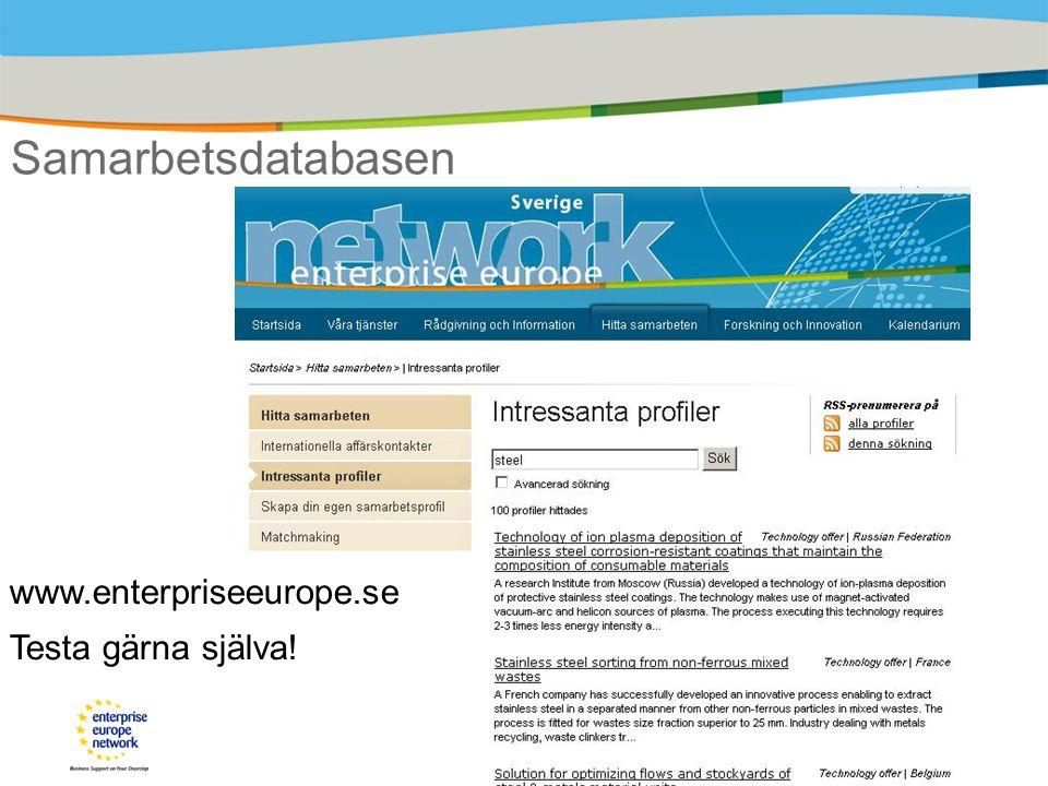 www.enterpriseeurope.se Testa gärna själva!