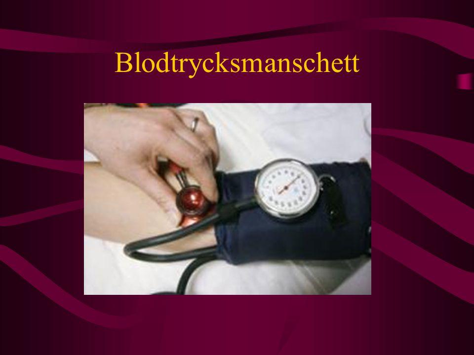 Blodtrycksmanschett