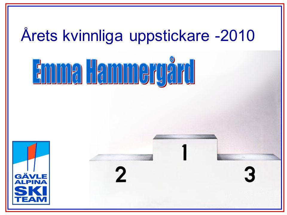 Årets kvinnliga uppstickare -2010