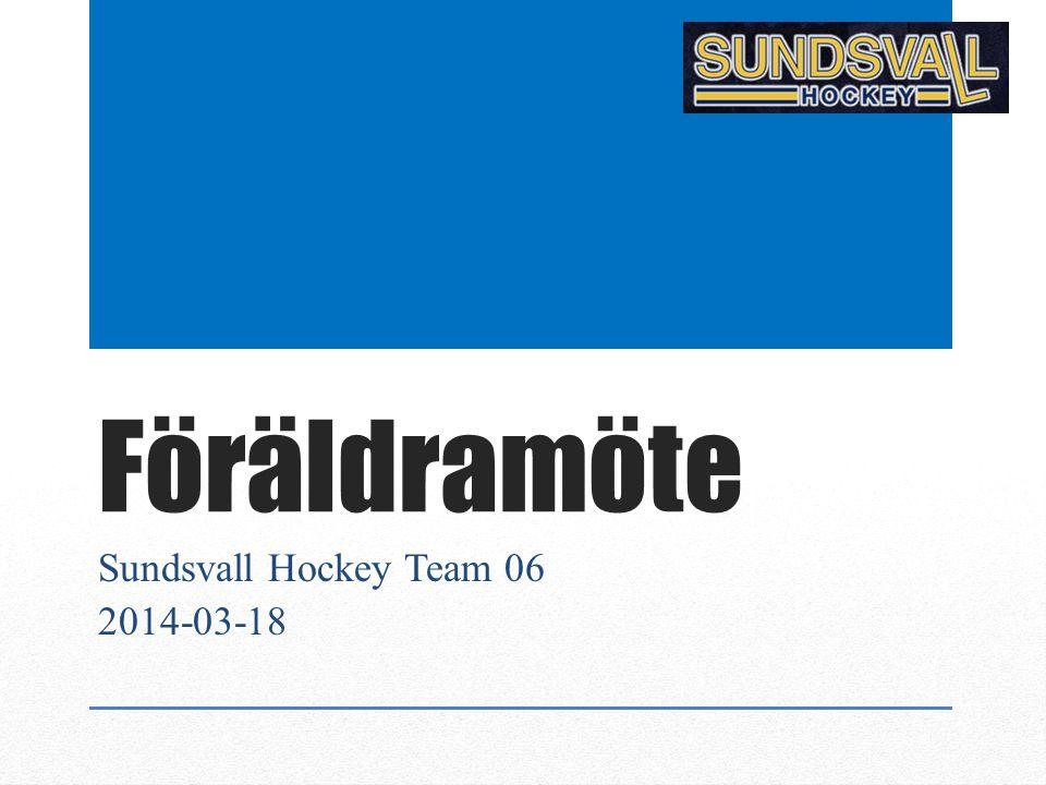 Föräldramöte Sundsvall Hockey Team 06 2014-03-18