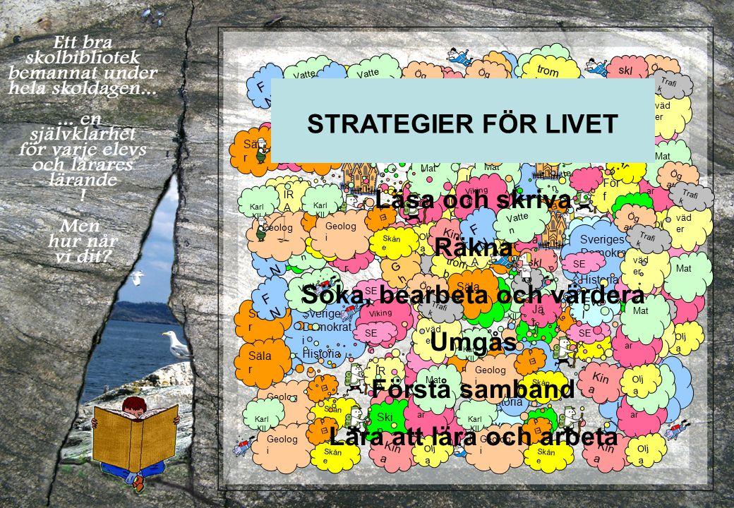 Lä(nk)s-tips (1/2 ) 1.Sveriges regionala skolbiblioteksföreningar: http://www.skolbibliotek.se/ Skolbibliotek Öst har t.ex.