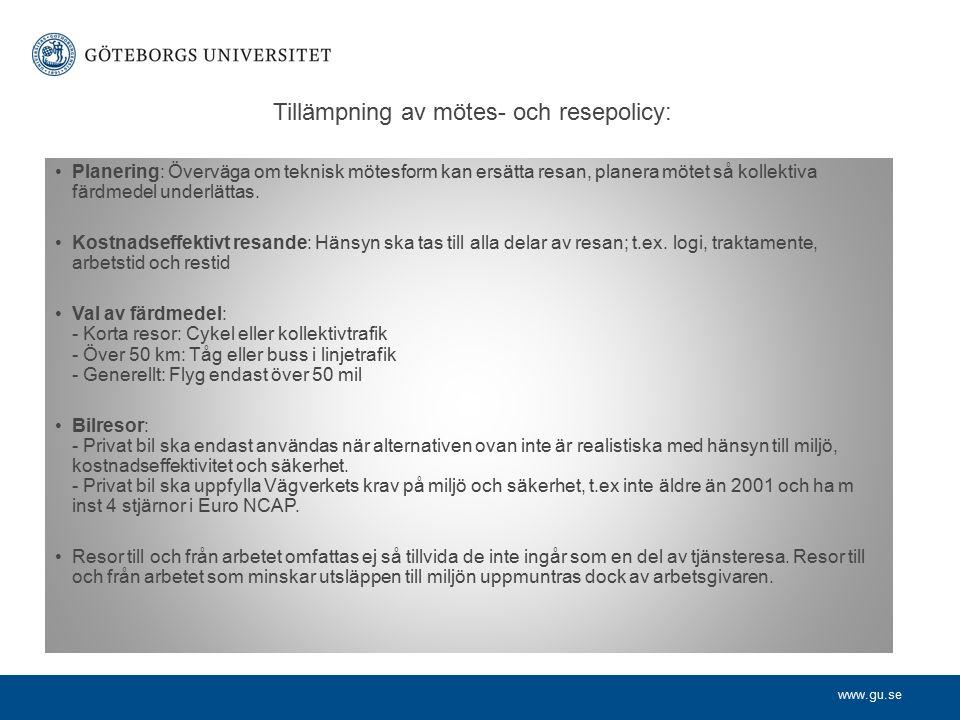 www.gu.se Budgetpropositionen (Prop.2009/10:1), sista sidan (s.