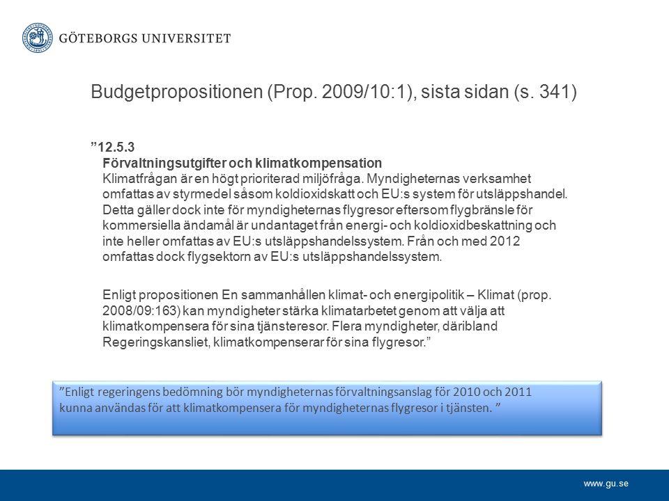 www.gu.se Vad innebär klimatneutral.