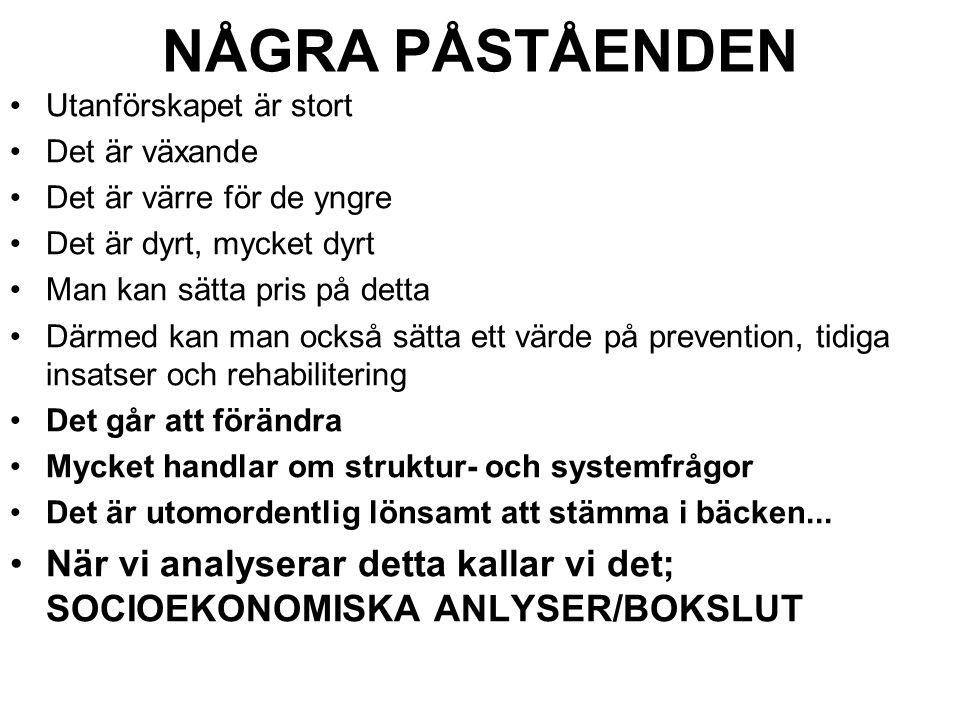 Låt oss börja i Norrköping Hur många barn föds varje år.