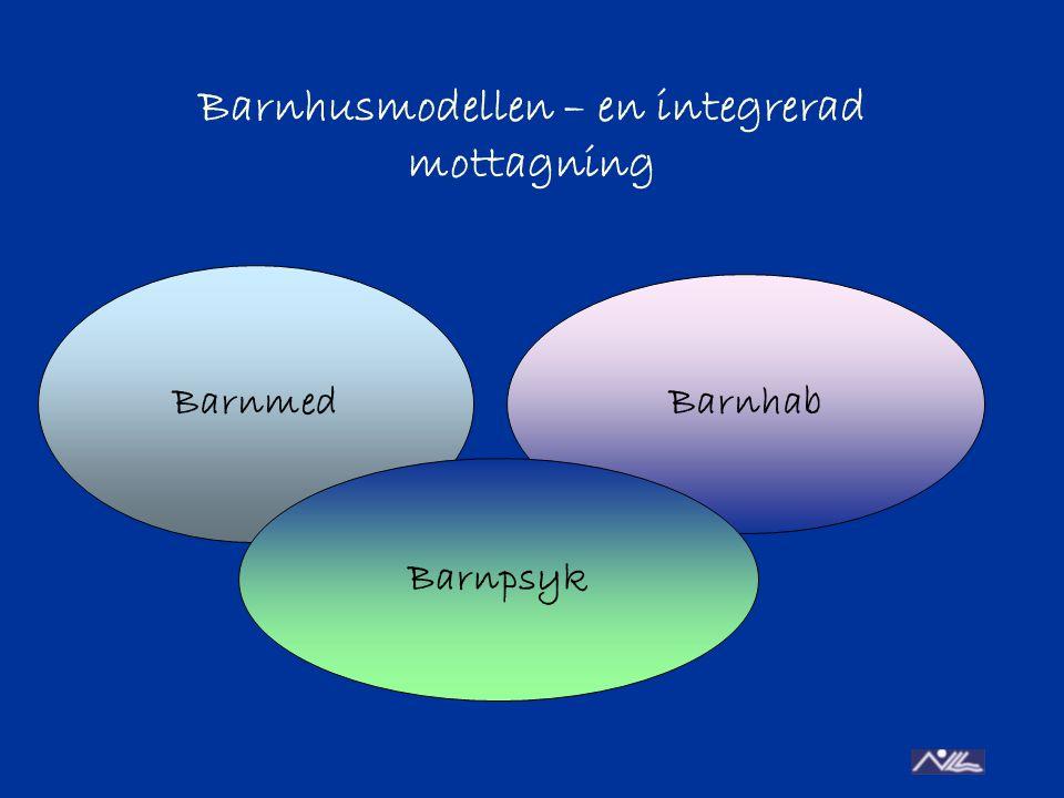 Barnhusmodellen – en integrerad mottagning Barnmed Barnhab Barnpsyk