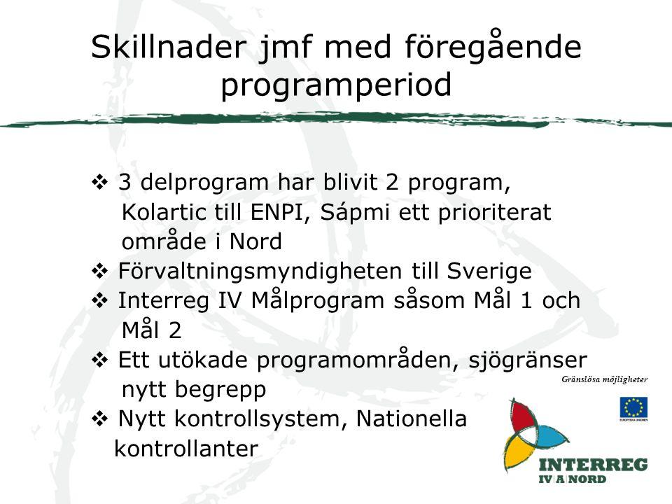 Interreg IVA Nord Gränslösa möjligheter
