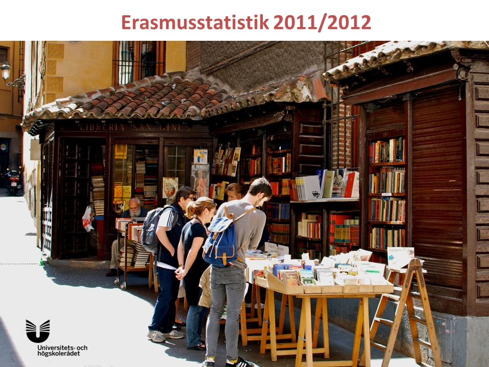 Erasmusstatistik 2011/2012