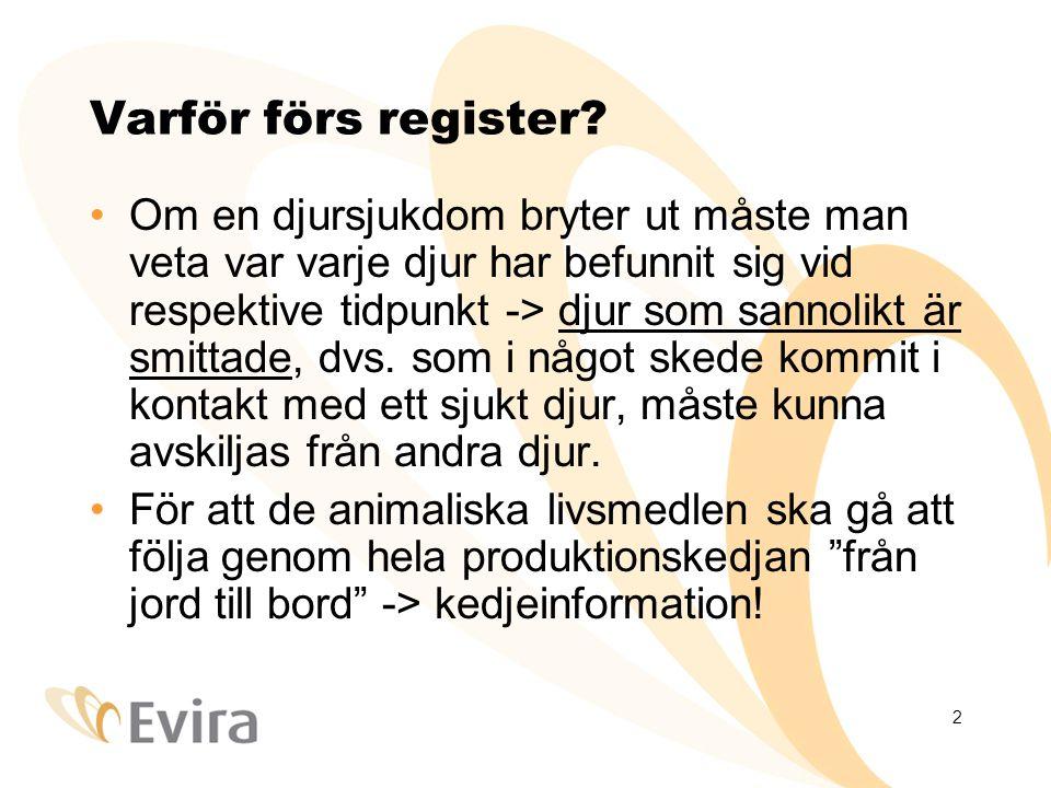 2 Varför förs register.