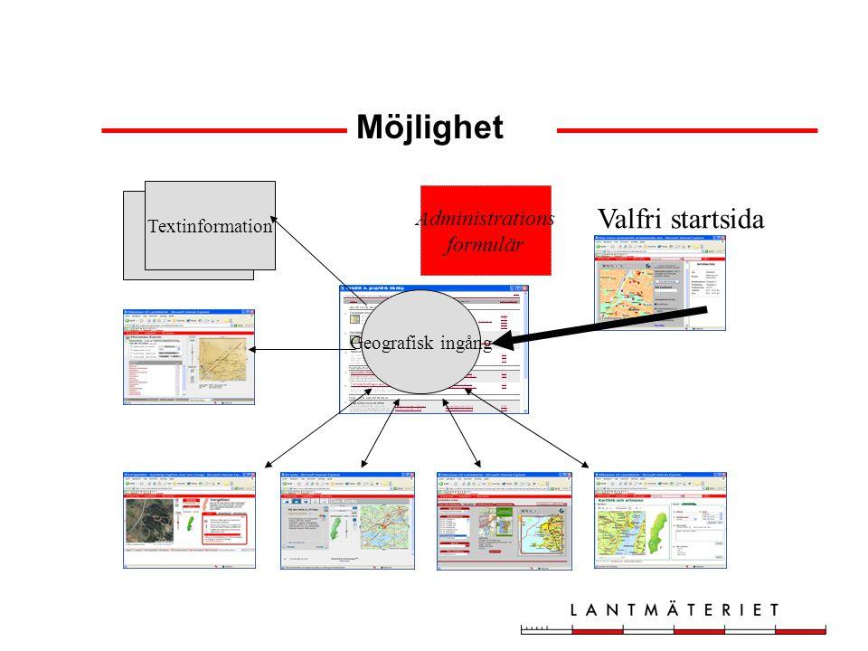 Vilka ingrepp behöver göras i de e-tjänster som ska använda den geografiska sökfunktionen.