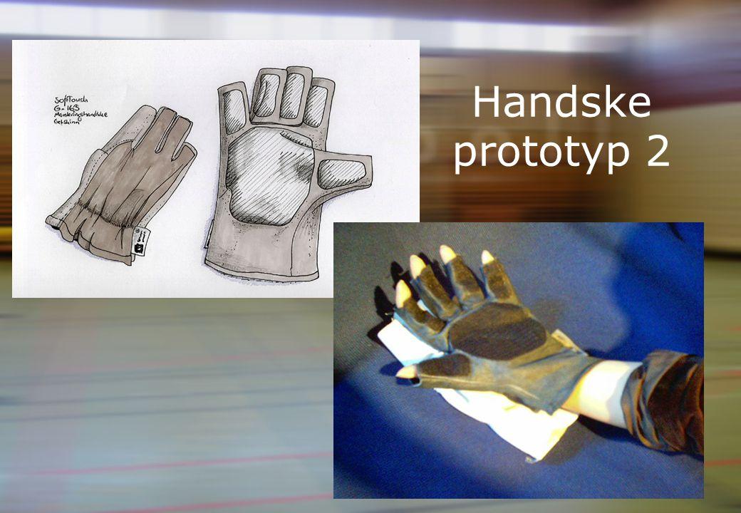 Handske prototyp 2