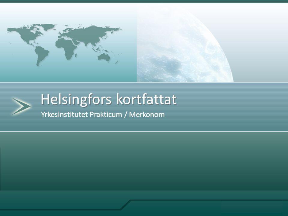 Yrkesinstitutet Prakticum / Merkonom Helsingfors kortfattat