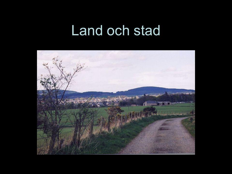 Land och stad