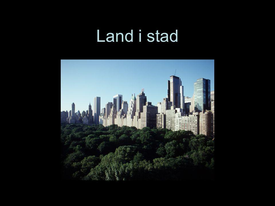 Land i stad