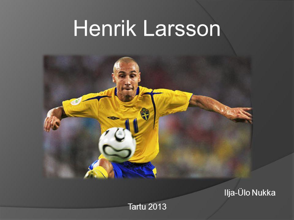 Edward Henrik Henke Larsson, född 20 september 1971 i Helsingborg, är en svensk fotbollstränare och före detta professionell fotbollsspelare (anfallare).