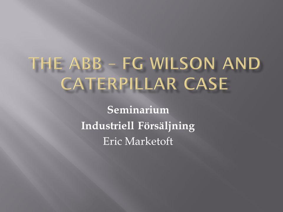 Seminarium Industriell Försäljning Eric Marketoft