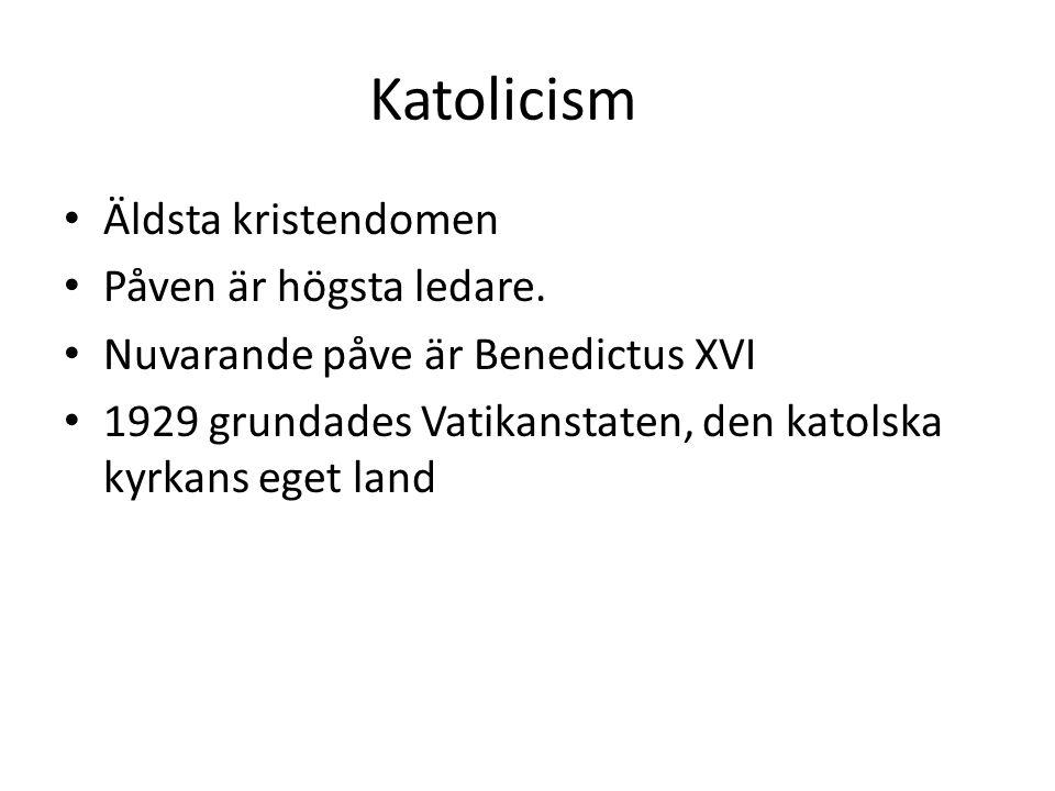 Katolicism I Sverige blev katoliker landsförvisade, utkörda från landet, under reformationen (Gustav Vasas kamp för att införa protestantismen i Sverige).