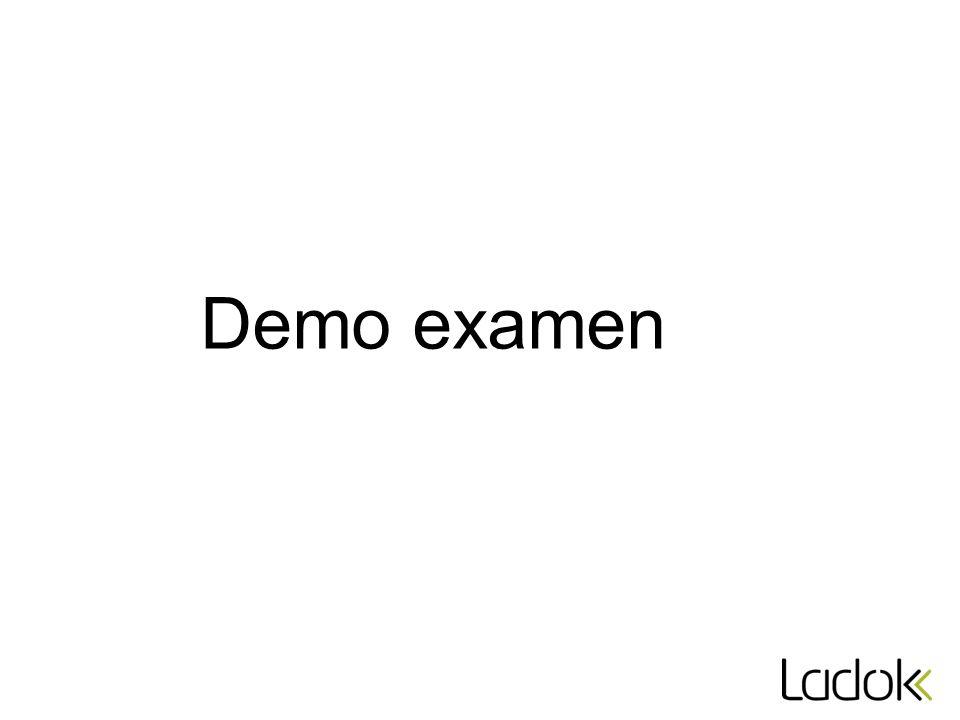 Demo examen