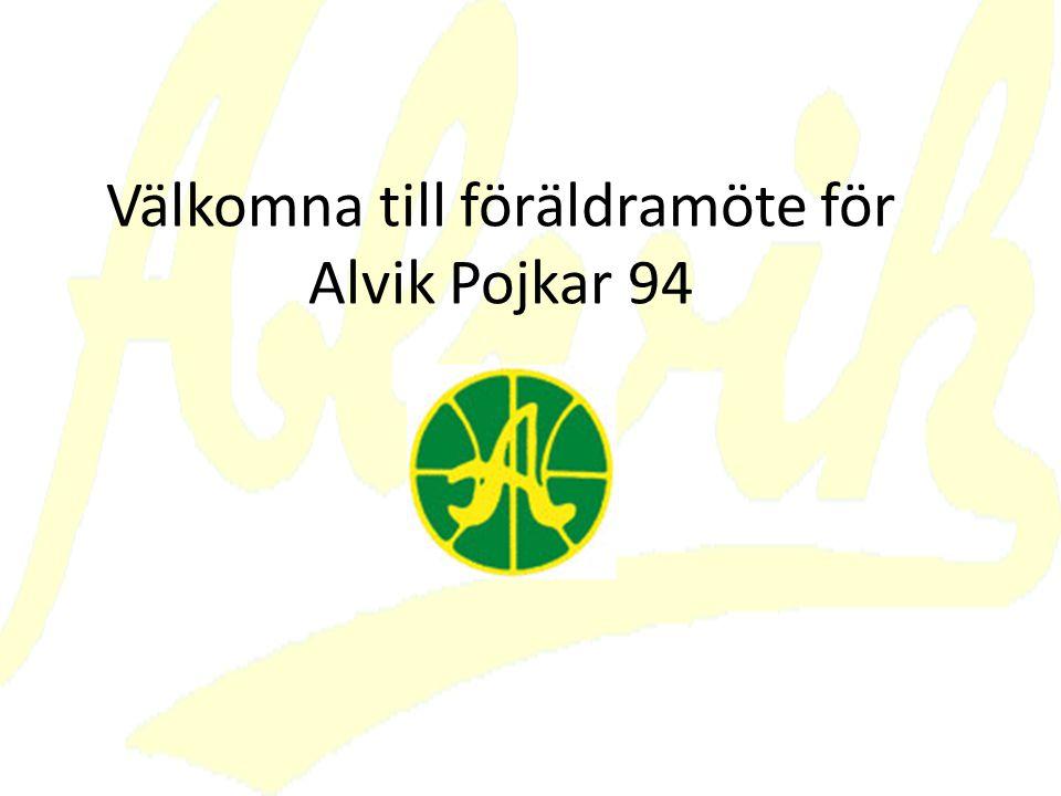 Välkomna till föräldramöte för Alvik Pojkar 94