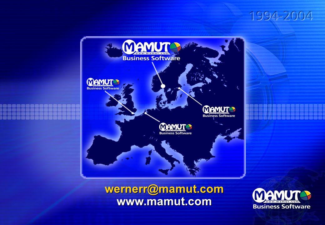 wernerr@mamut.com www.mamut.com