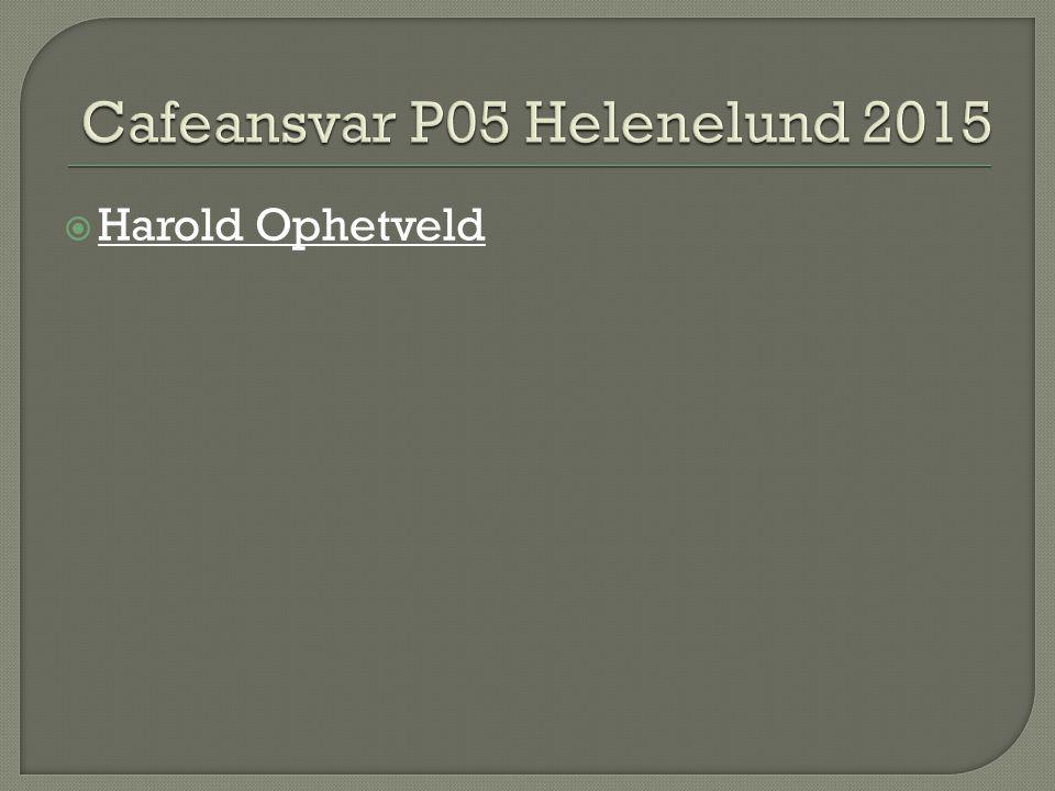  Harold Ophetveld