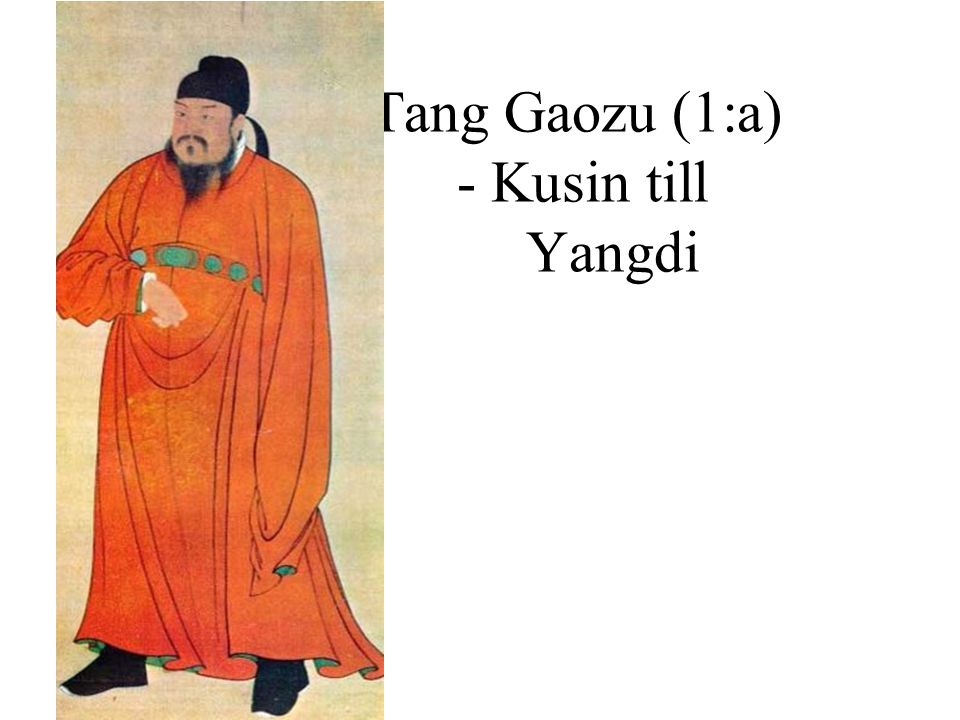 Tang Gaozu (1:a) - Kusin till Yangdi