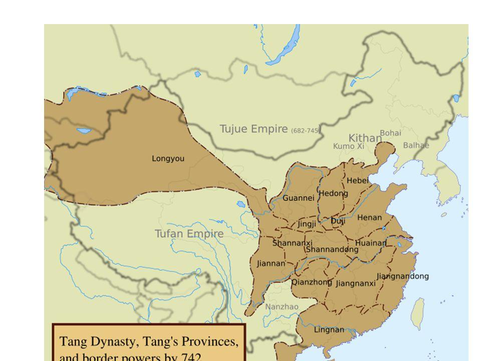 Kina under Tang
