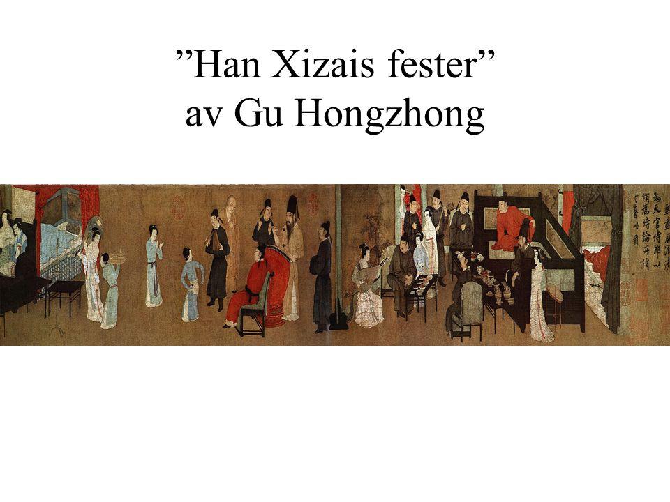 Han Xizais fester av Gu Hongzhong