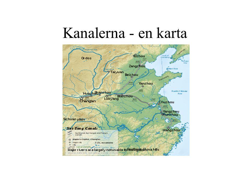 Kanalerna - en karta