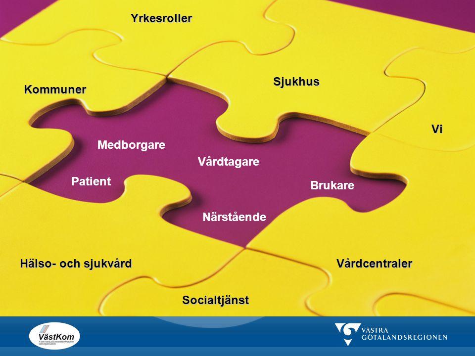 Syftet med regiongemensam rutin och IT-tjänst   Öka kvalitet och säkerhet i den samordnade vårdplaneringsprocessen samt förenkla processen kring de planerat utskrivningsklara och utskrivningsklara patienterna   Få ett standardiserat utbyte av information   En gemensam rutin för hela Västra Götaland.