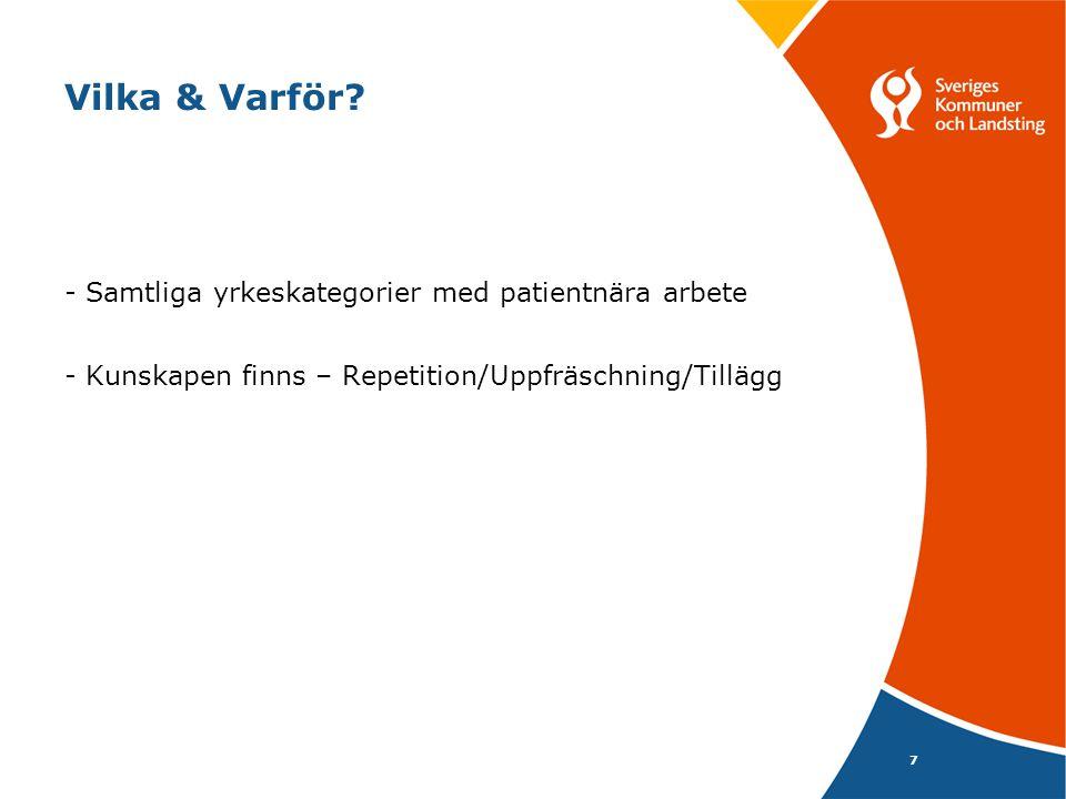8 Upplägg -Webbaserat -Intranätet/Hematologiskt Centrum -Teoretiskt del -Vårdhygien (Olle Aspevall) -Hematologirelaterat material (Per Ljungman) -Basala Hygienrutiner & Klädregler (inkl.
