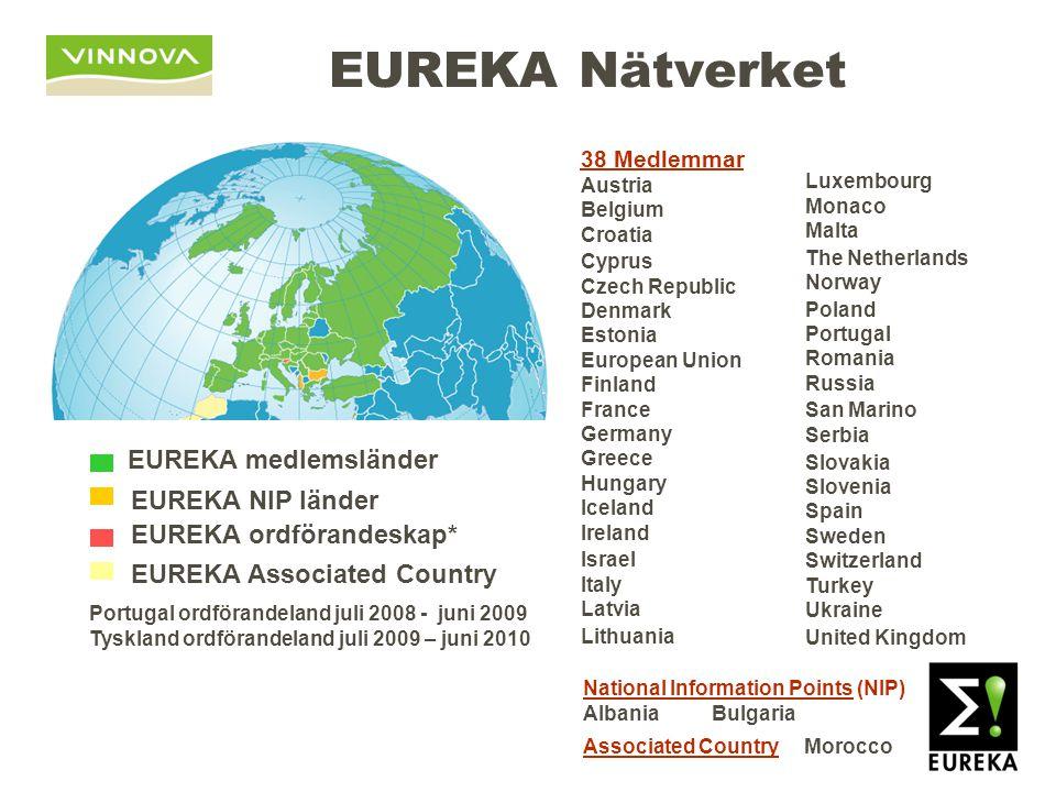 SMF i EUREKA-projekt 13,400 deltagare från hela Europa – och övriga världen