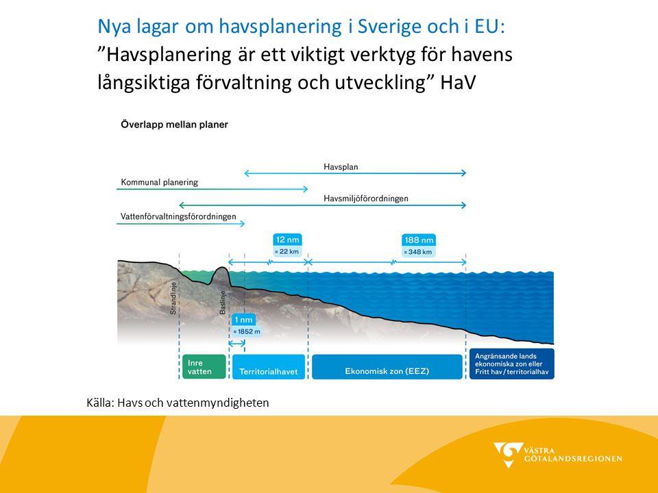 """Nya lagar om havsplanering i Sverige och i EU: """"Havsplanering är ett viktigt verktyg för havens långsiktiga förvaltning och utveckling"""" HaV Källa: Hav"""