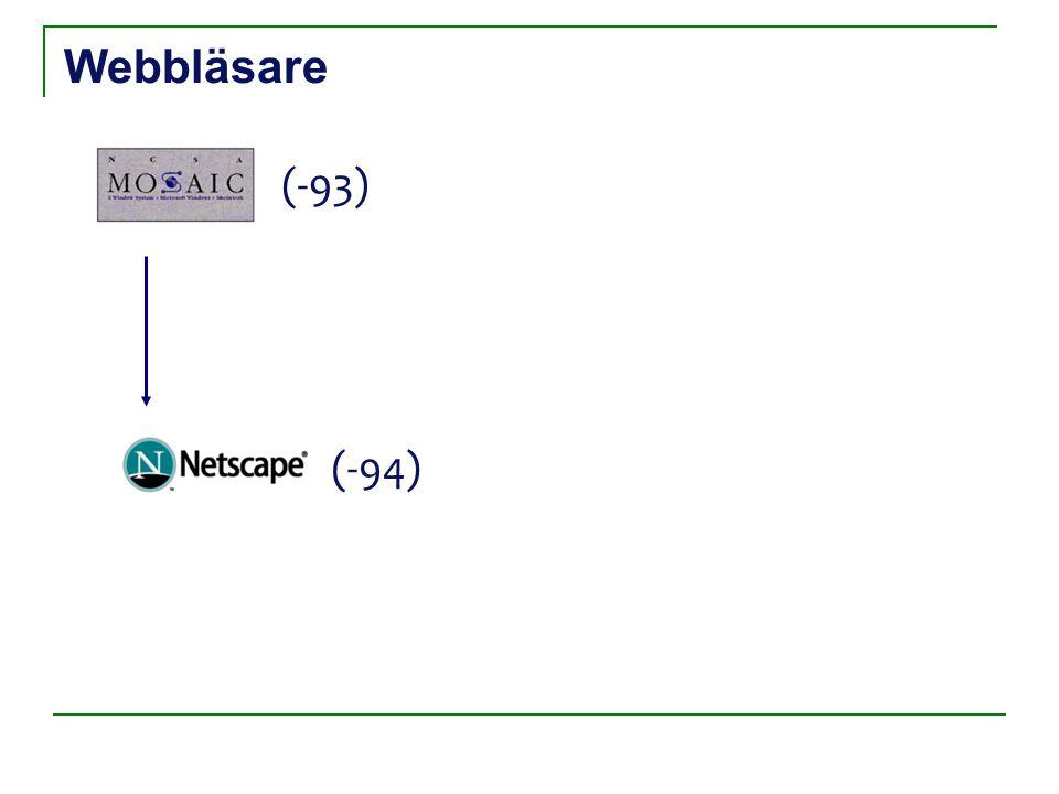Webbläsare (-93) (-94)