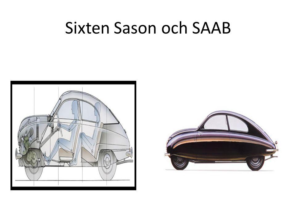 Sixten Sason och SAAB