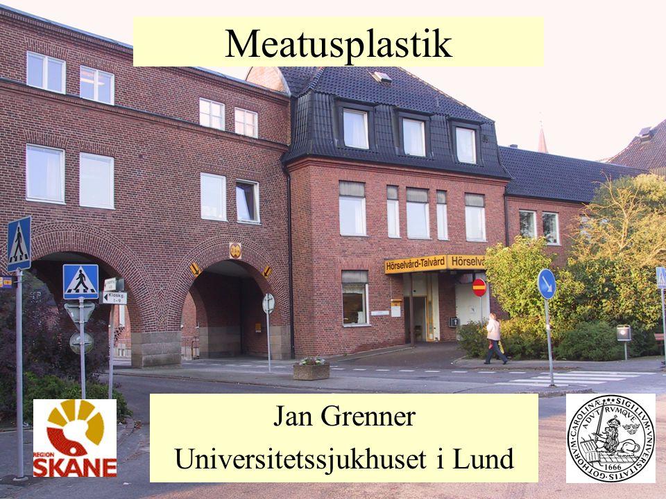 Meatusplastik Jan Grenner Universitetssjukhuset i Lund