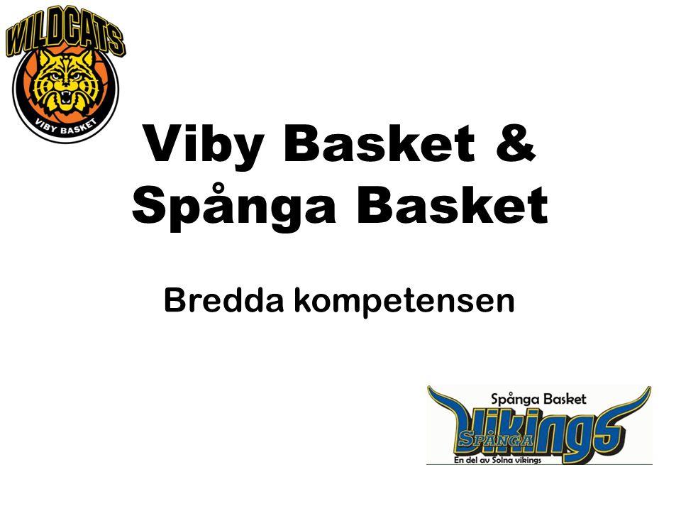 Viby Basket & Spånga Basket Bredda kompetensen