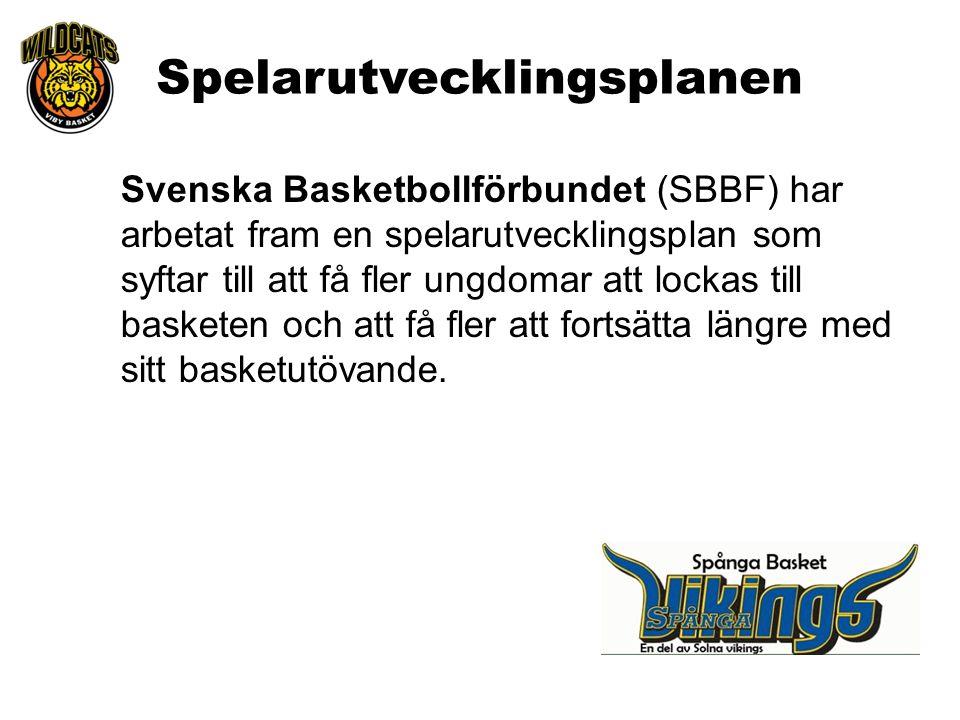 Svenska Basketbollförbundet (SBBF) har arbetat fram en spelarutvecklingsplan som syftar till att få fler ungdomar att lockas till basketen och att få