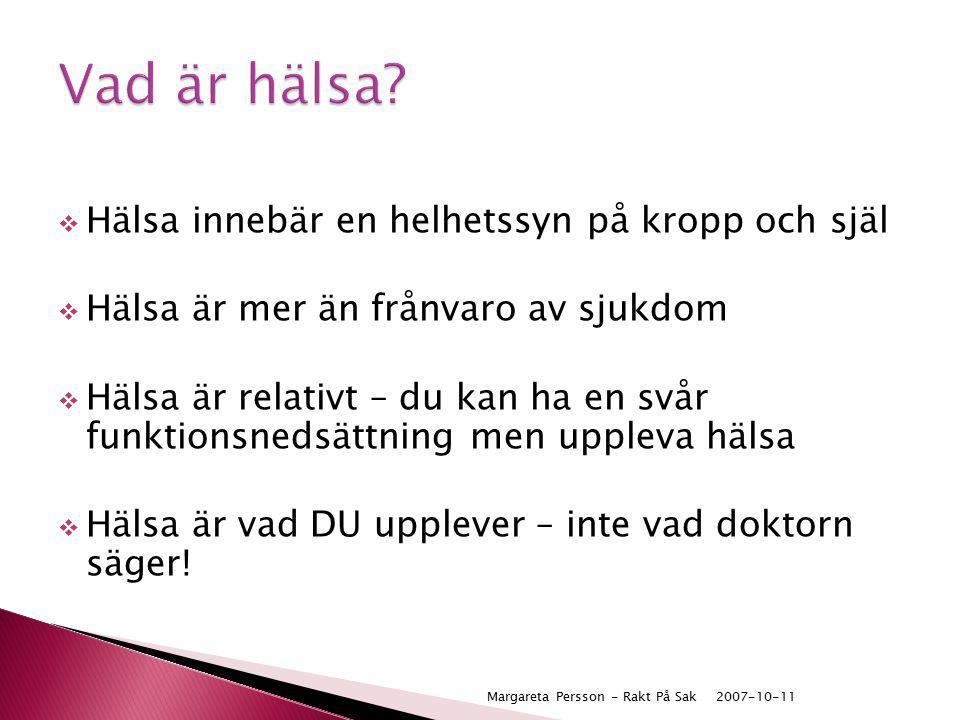 2007-10-11Margareta Persson - Rakt På Sak