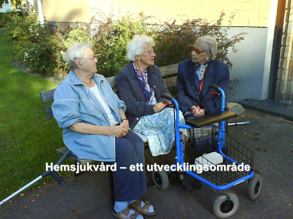Svenska Kommunförbundet och Landstingsförbundet i samverkan 12 Hemsjukvård – ett utvecklingsområde