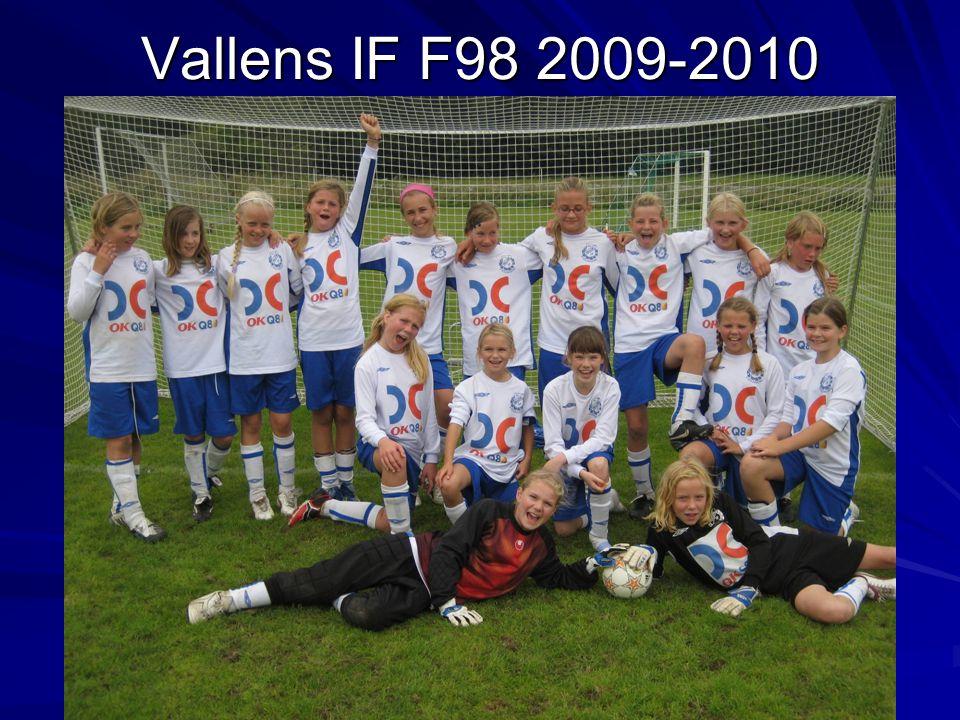 Vallens IF F98 2009-2010
