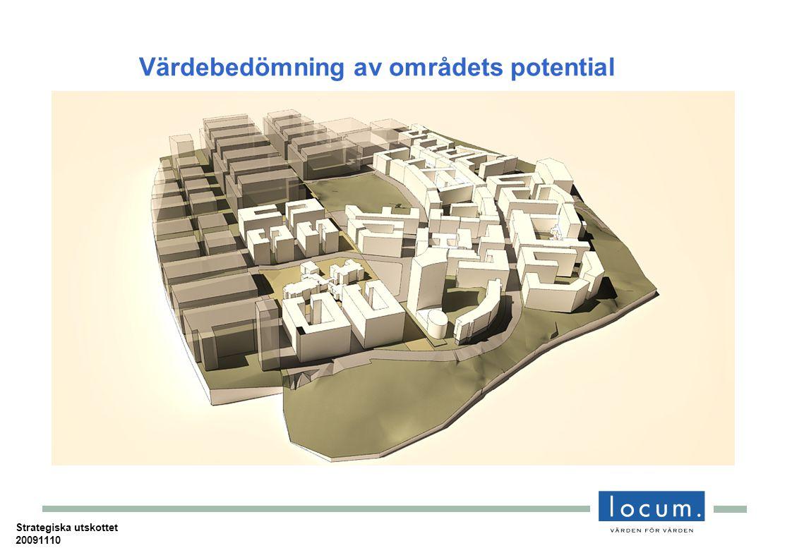 Värdebedömning av områdets potential Strategiska utskottet 20091110
