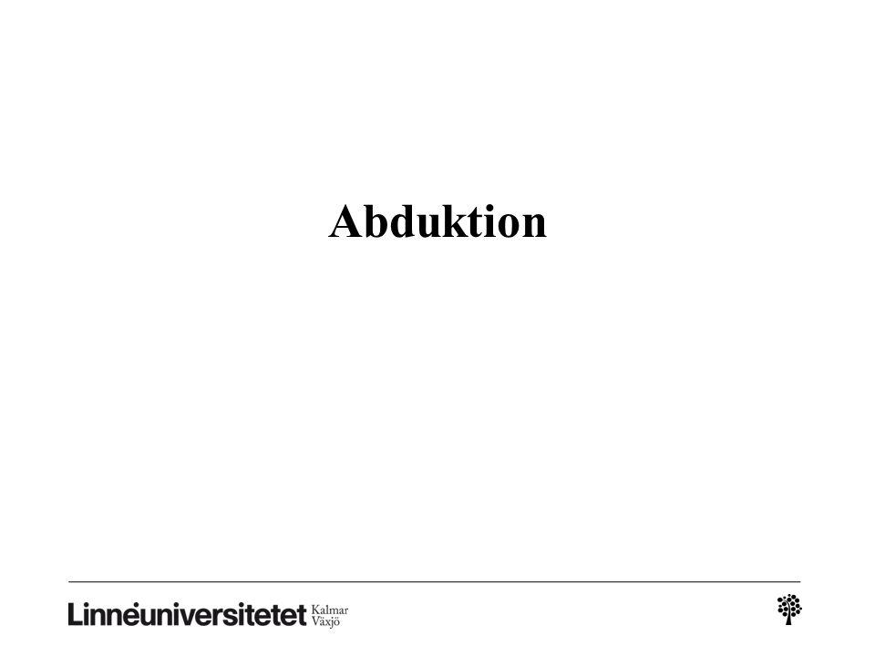 Abduktion