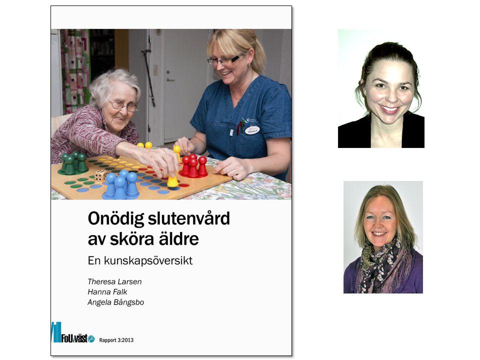 www.grkom.se/fouivast ©GÖTEBORGSREGIONENS KOMMUNALFÖRBUND Undernäring  Undernäring är starkt kopplat till multisjuklighet och slutenvård av sköra äldre.