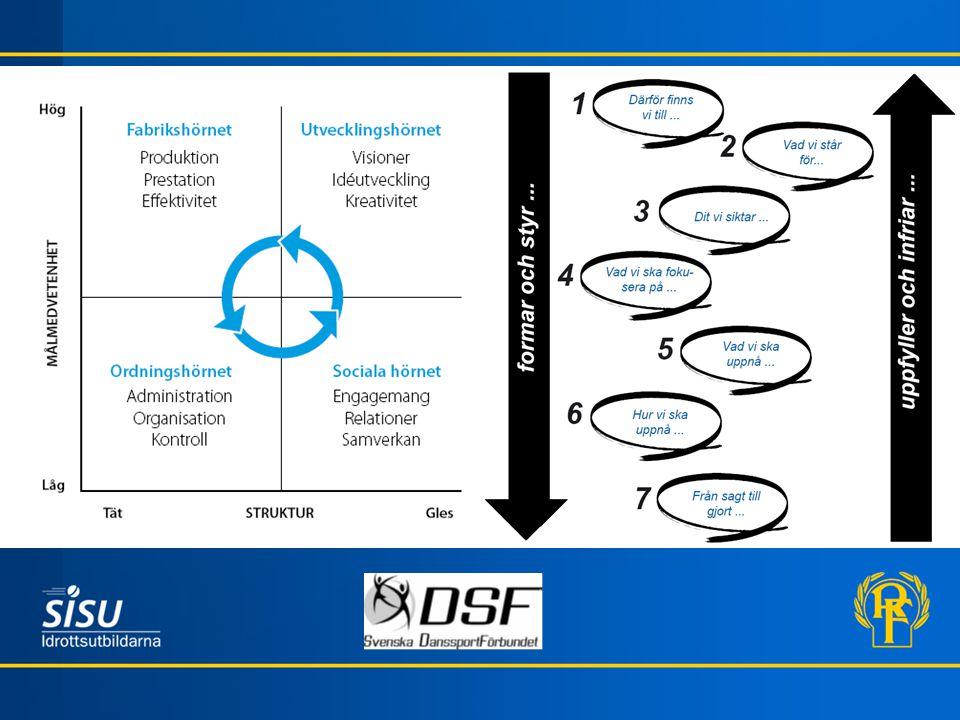 Styrelsen - ett lag Tänk på några olika styrelser som du har varit med i eller fortfarande är med i.